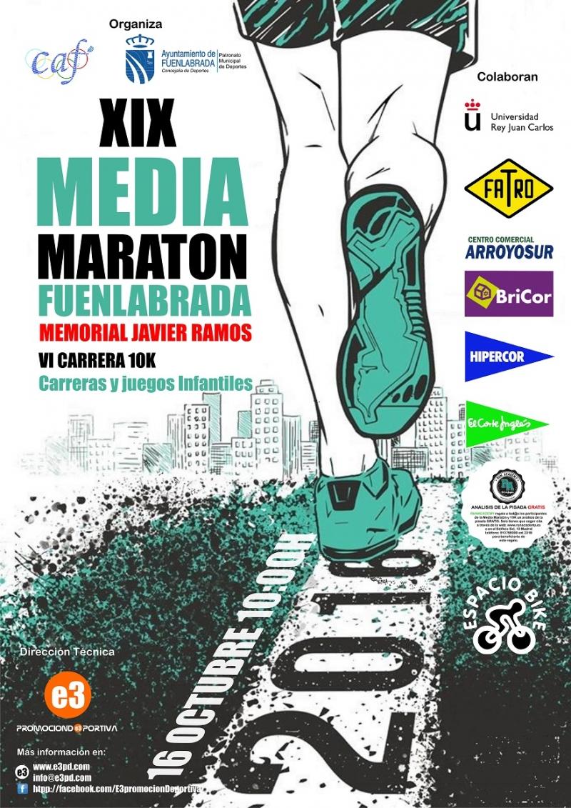 Resultados XIX MEDIA MARATON DE FUENLABRADA