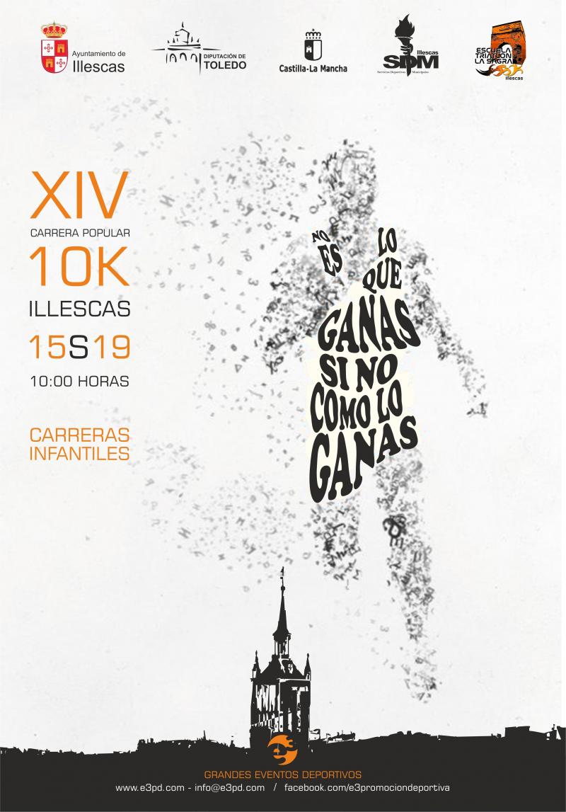 Resultados XIV EDICION 10K ILLESCAS