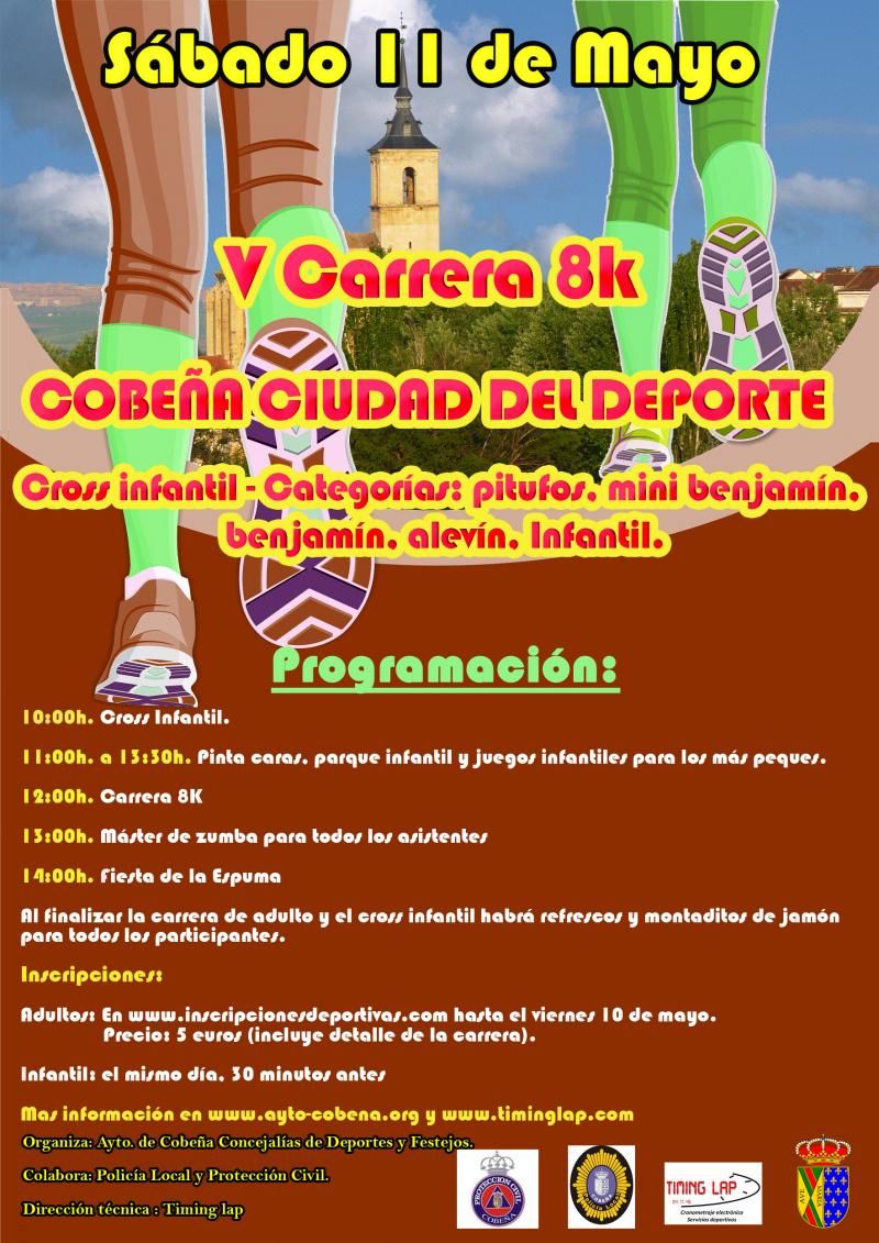 Resultados V CARRERA POPULAR 8K COBEÑA CIUDAD DEL DEPORTE