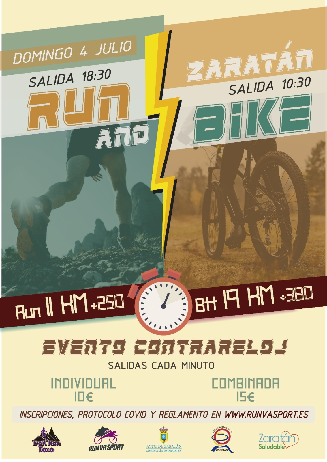 Event Poster RUN AND BIKE