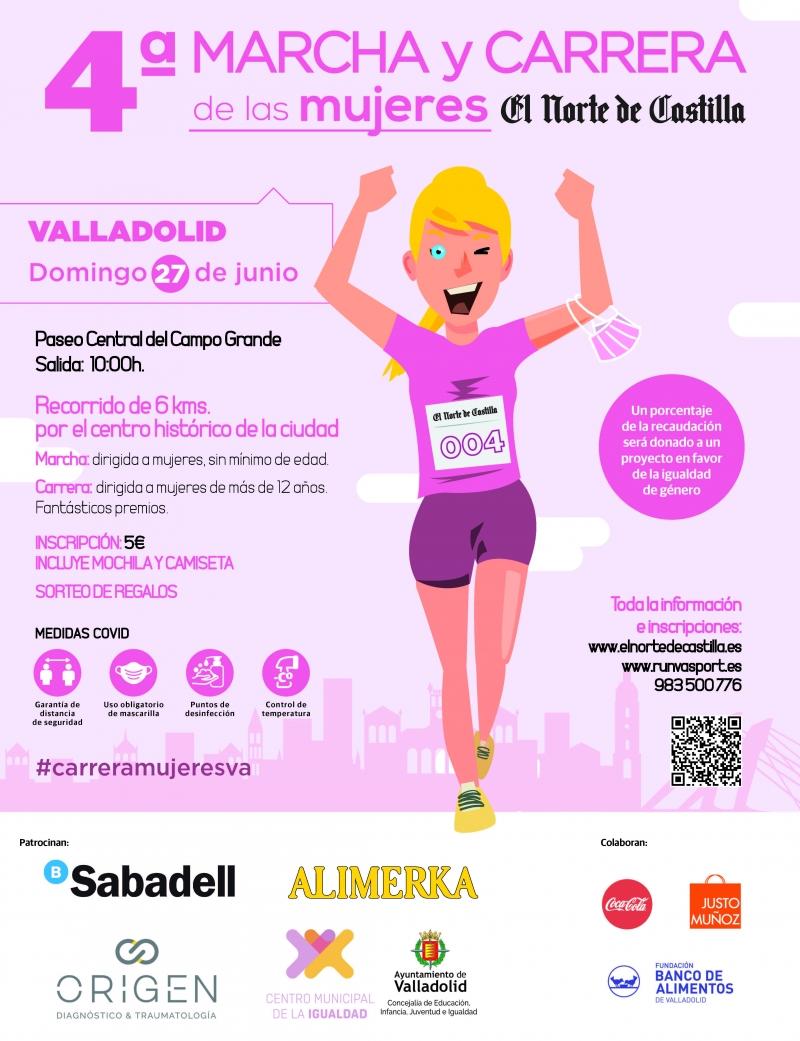Event Poster 4ª MARCHA Y CARRERA DE LAS MUJERES