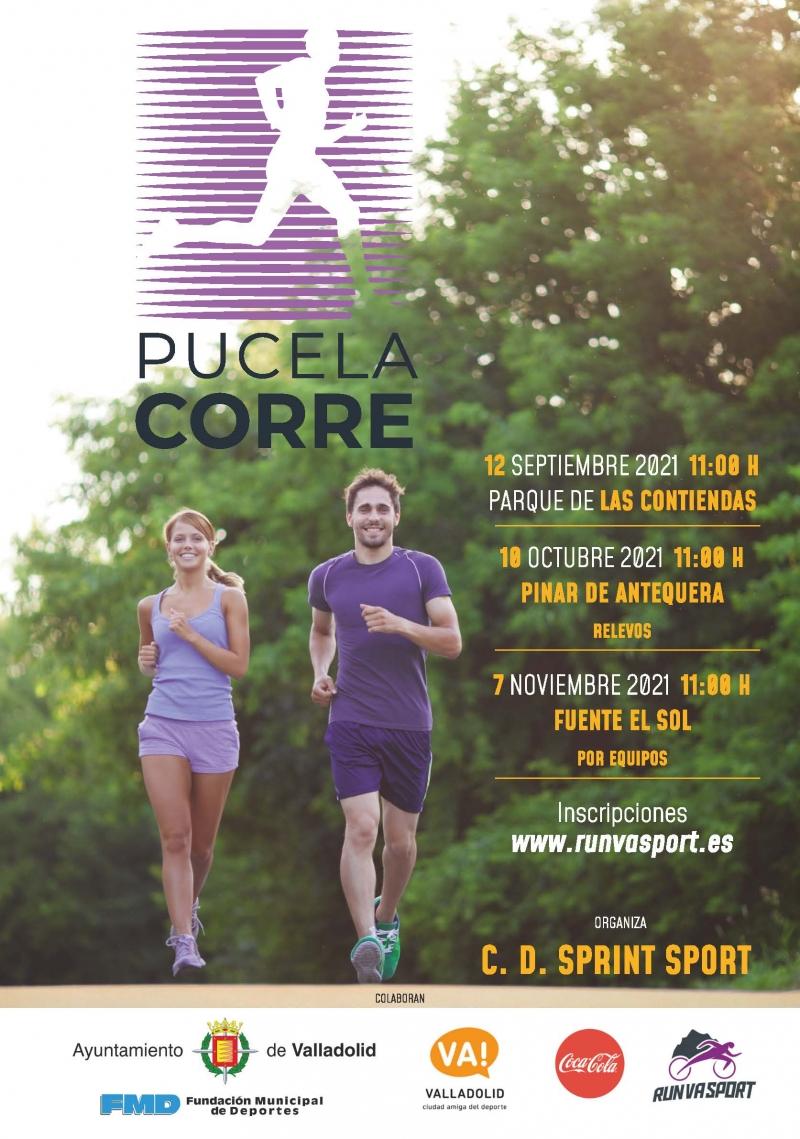 Event Poster PUCELA CORRE PARQUE DE LAS CONTIENDAS