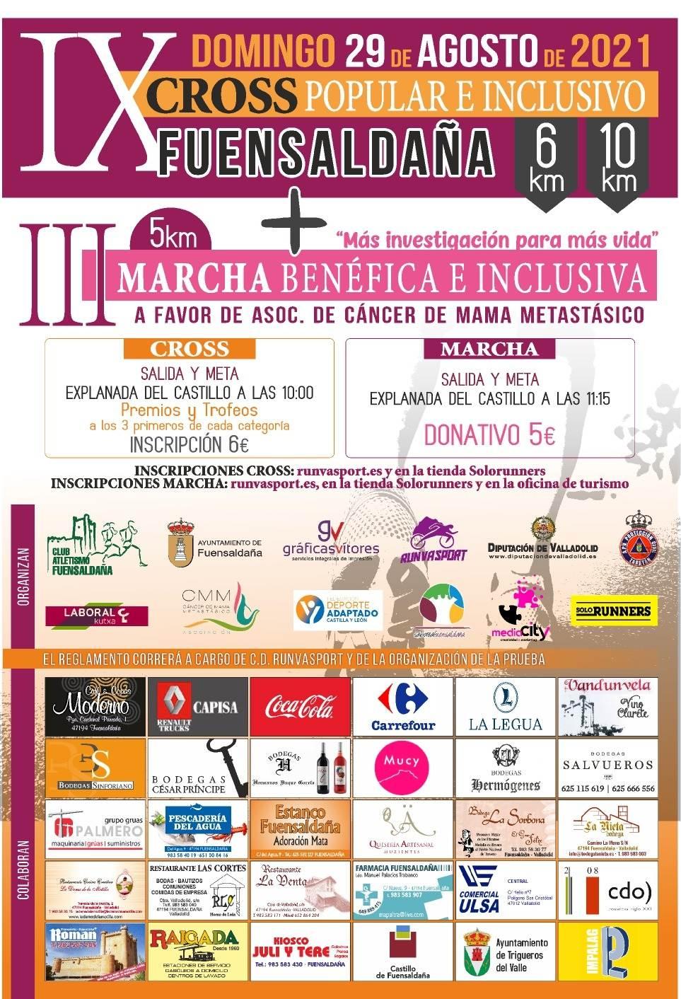 Event Poster IX CROSS POPULAR E INCLUSIVO