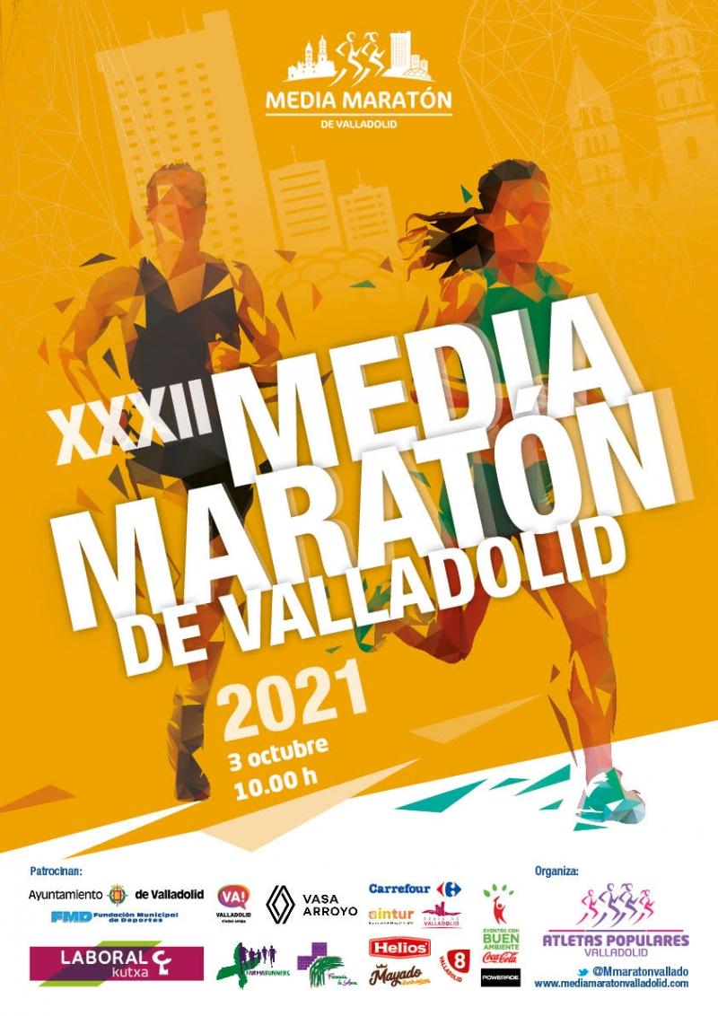 Event Poster XXXII MEDIA MARATÓN CIUDAD DE VALLADOLID