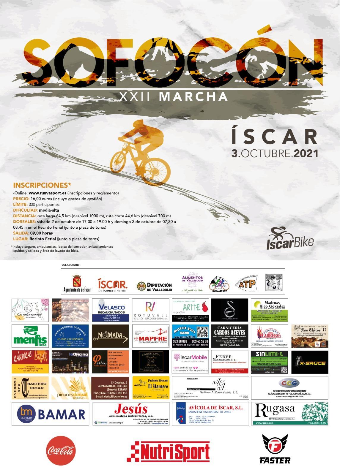 Event Poster MARCHA BTT XXII RUTA DEL SOFOCÓN