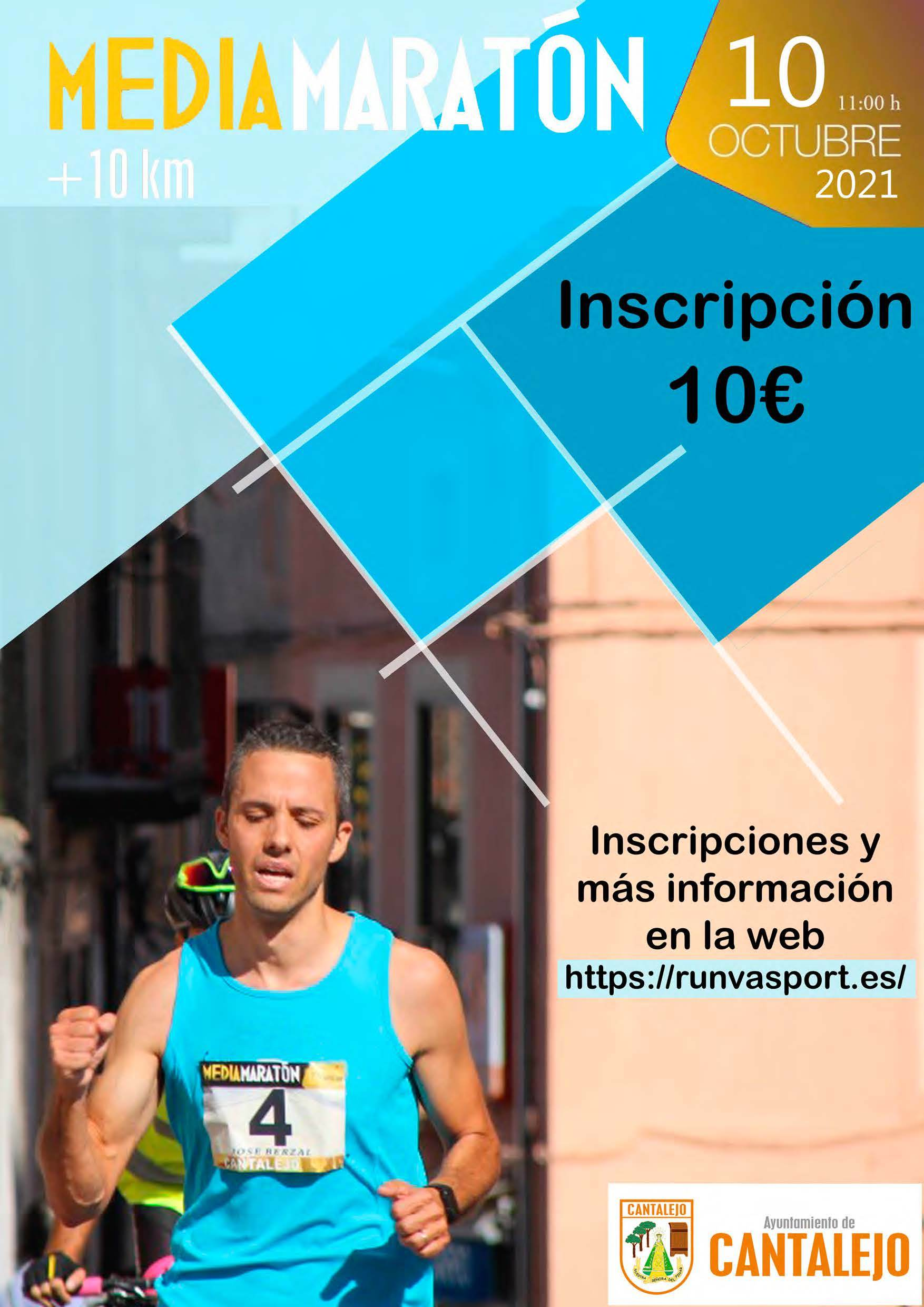 Event Poster MEDIA MARATON DE CANTALEJO 2021
