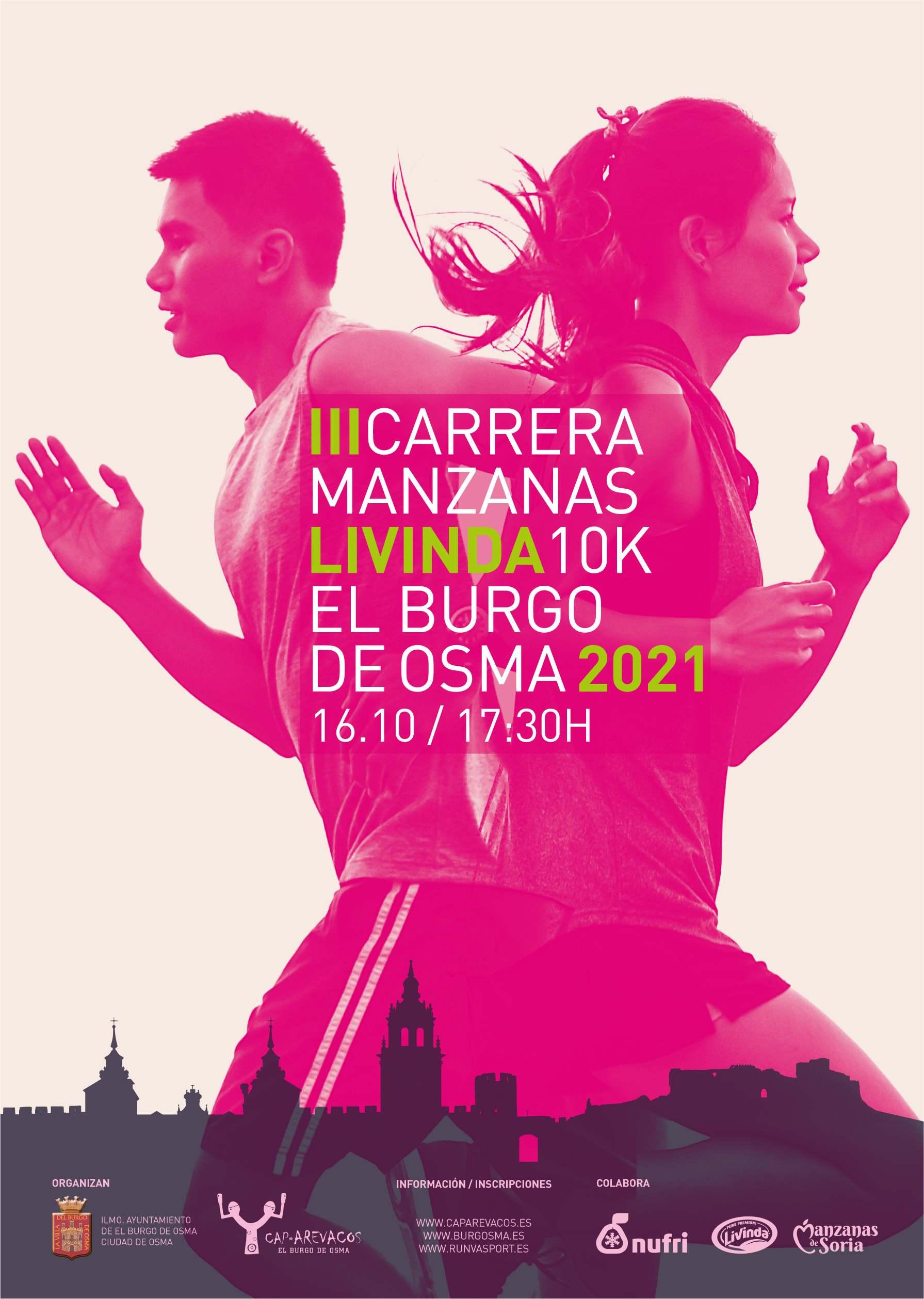 Event Poster III CARRERA LIVINDA BURGO DE OSMA