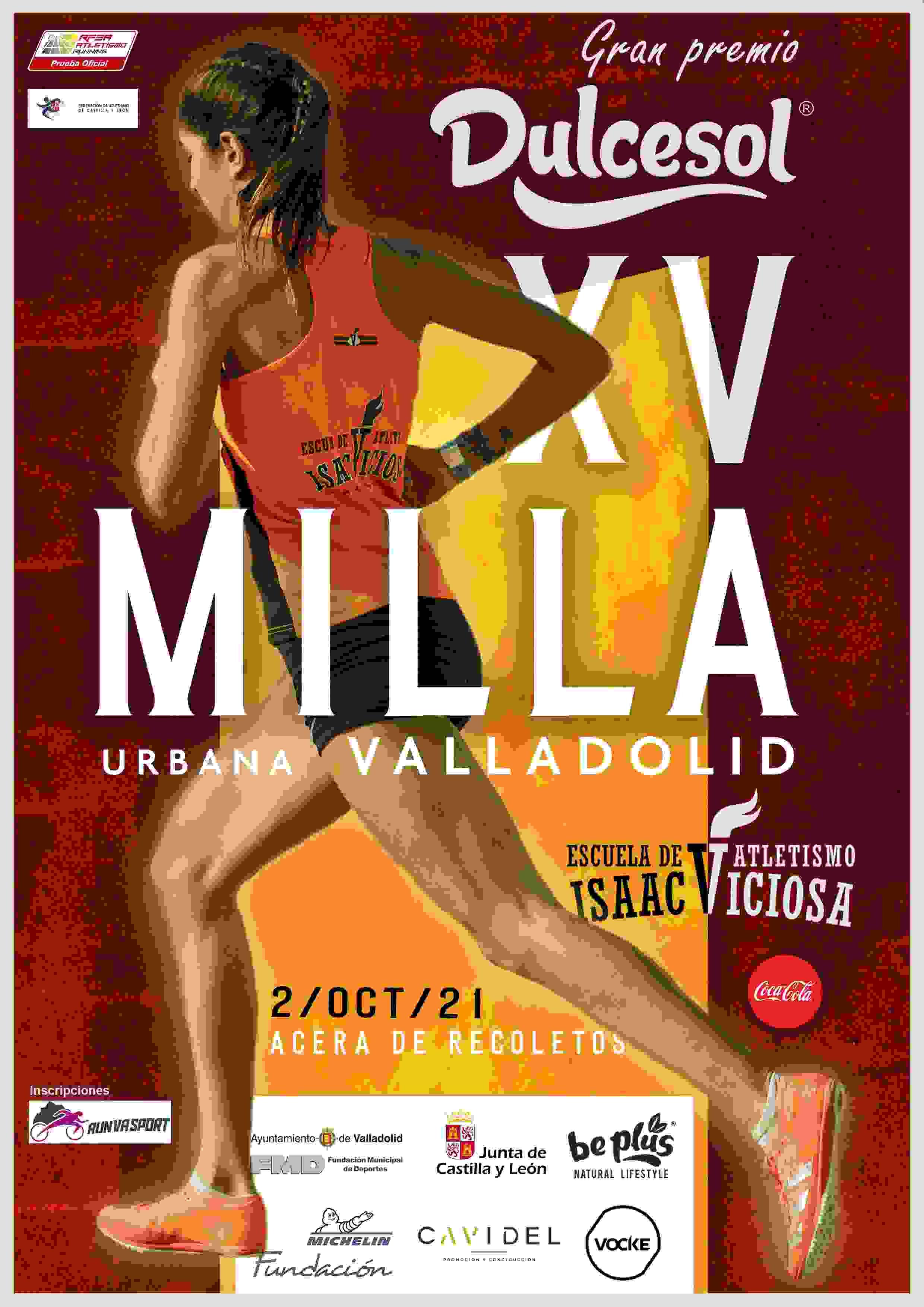 Event Poster XV MILLA URBANA VALLADOLID