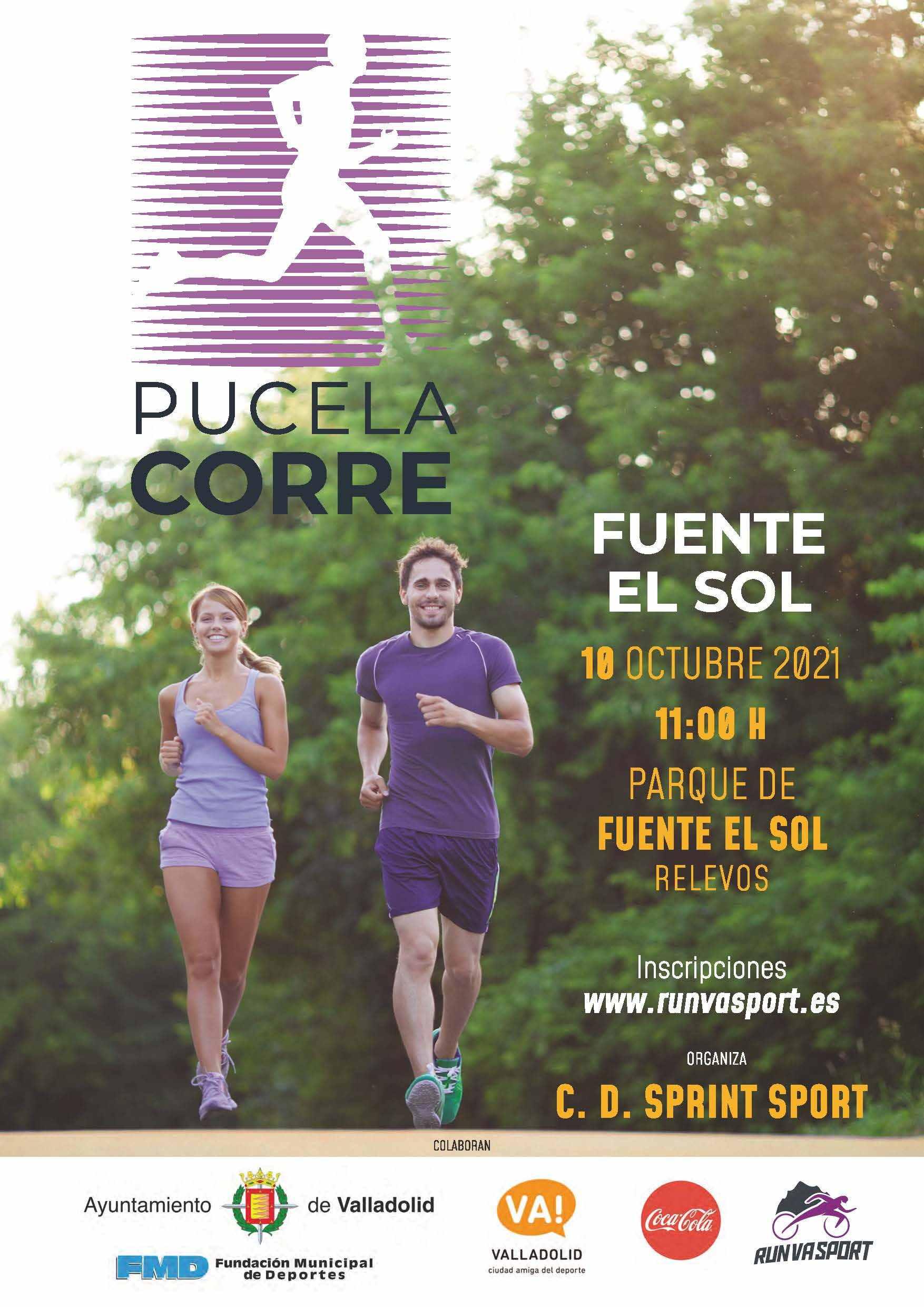 Event Poster PUCELA CORRE-FUENTE EL SOL