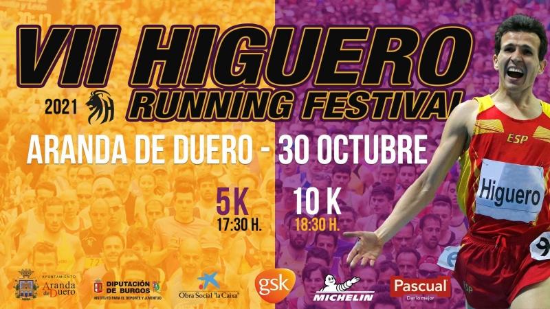 Event Poster VII HIGUERO RUNNING FESTIVAL 2021