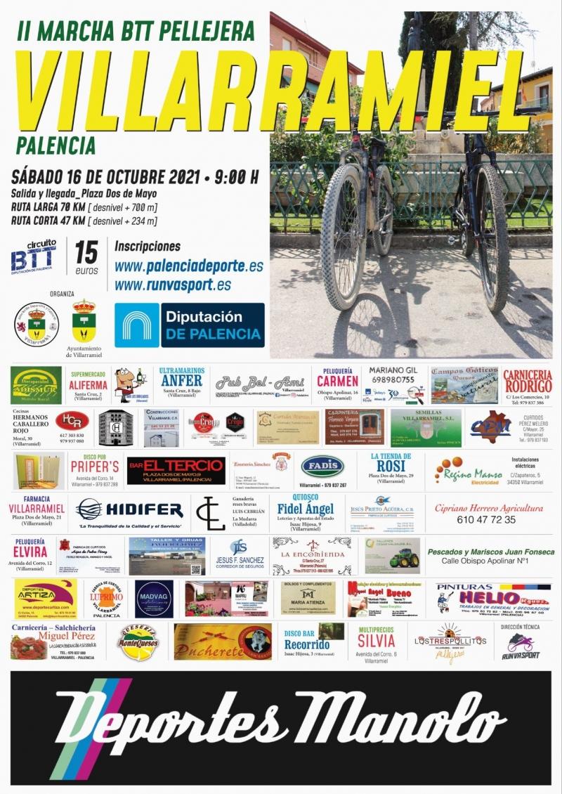 Event Poster II BTT PELLEJERA_VILLARRAMIEL 2021