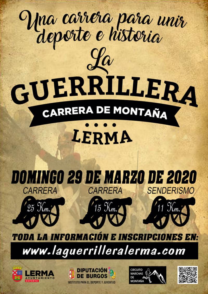 Cartel del evento LA GUERRILLERA 2020