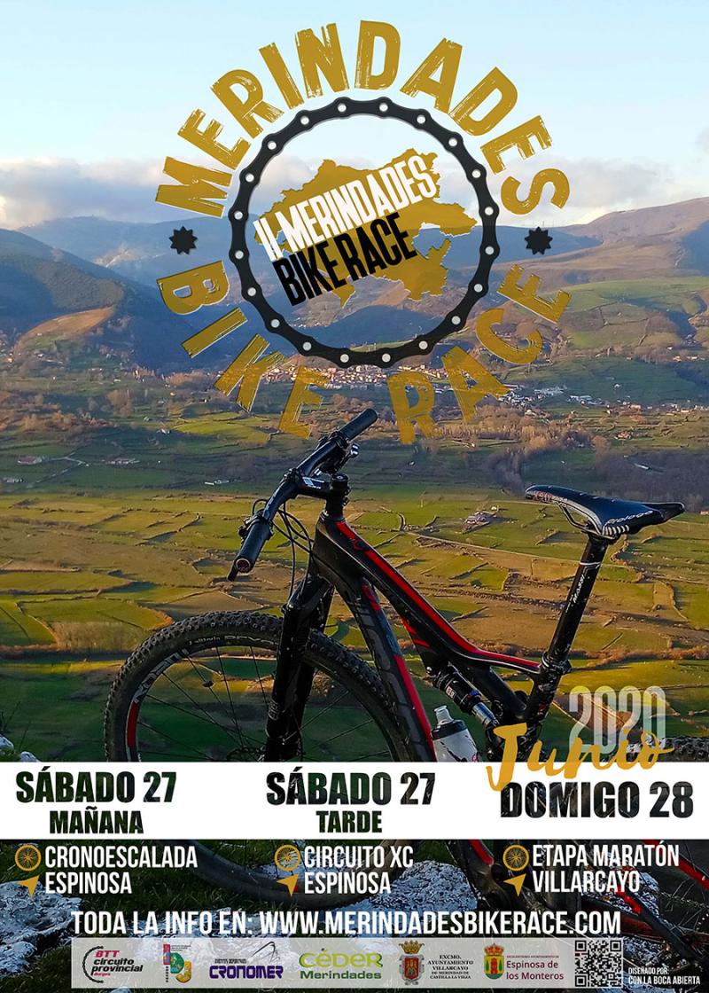 Cartel del evento II MERINDADES BIKE RACE (PRUEBA POR ETAPAS)