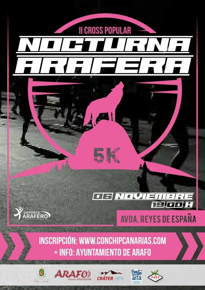 Event Poster II CROSS POPULAR, NOCTURNA ARAFERA 2021