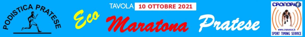 Iscrizione all'evento  - 3A ECO MARATONA PRATESE