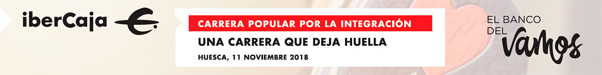 Inscripción - CARRERA POPULAR IBERCAJA HUESCA POR LA INTEGRACIÓN 2018