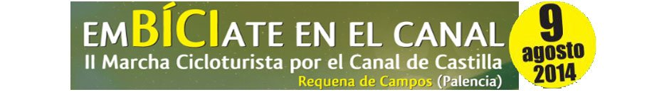 EMBICIATE EN EL CANAL 2014