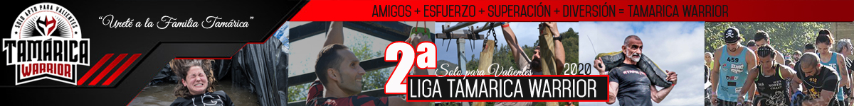 CALENDARIO  - LIGA TAMARICA WARRIOR  2020