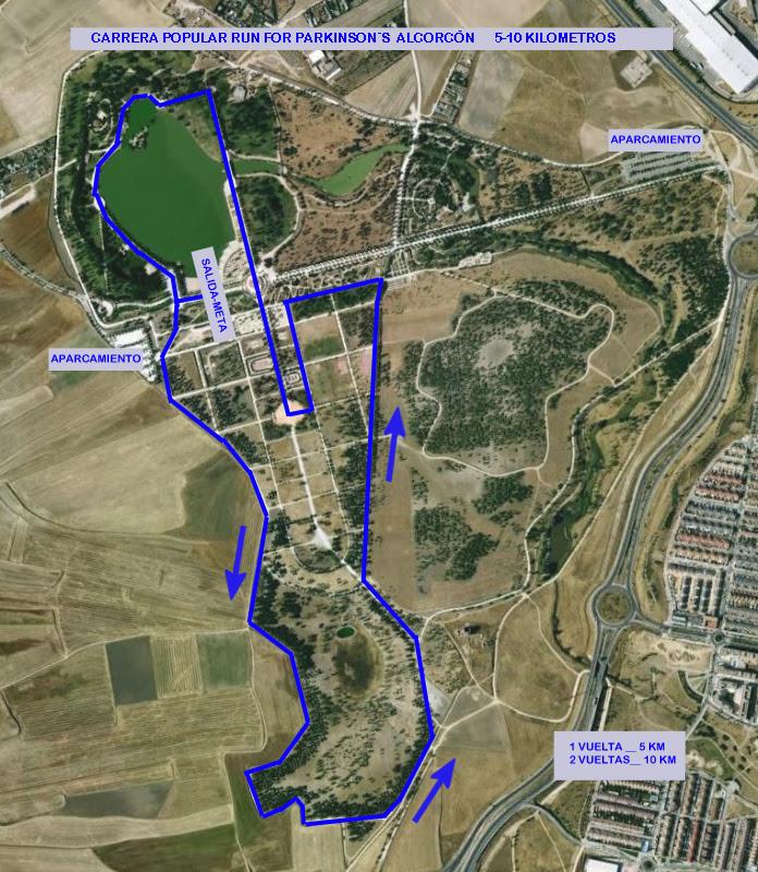 canal darse cuenta Pompeya  RECORRIDO - VII CARRERA SOLIDARIA RUN FOR PARKINSON APARKAM PARKINSON SIN  LIMITES