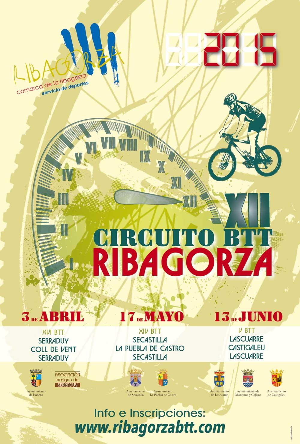 XII CIRCUITO BTT RIBAGORZA - Inscríbete