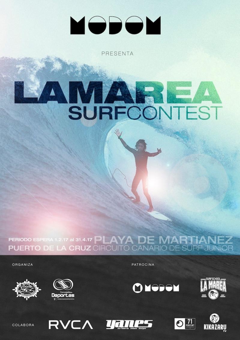 CIRCUITO CANARIO DE SURFING 2017 LA MAREA MARTIANEZ  - Inscríbete