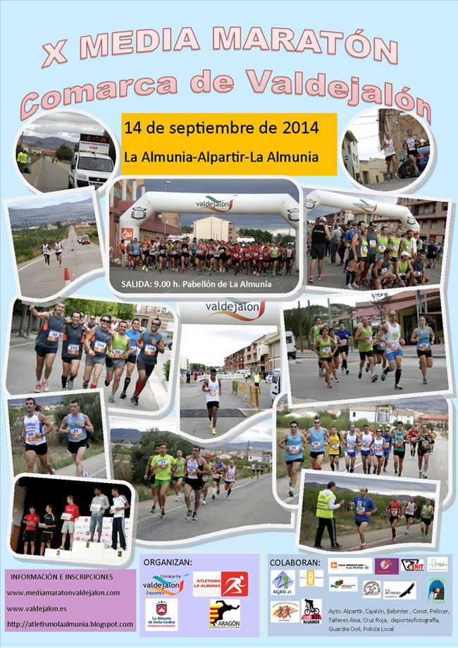 X MEDIA MARATÓN COMARCA DE VALDEJALÓN - Register