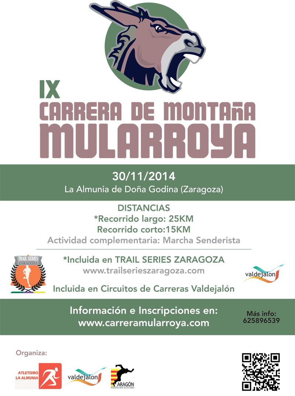 IX CARRERA DE MONTAÑA MULARROYA - Inscrivez-vous