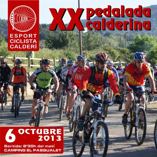 XX PEDALADA CALDERINA - Inscríbete