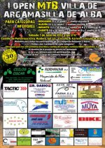 I OPEN MTB CATEGORIAS INFERIORES ''VILLA DE ARGAMASILLA'' - Inscriu-te
