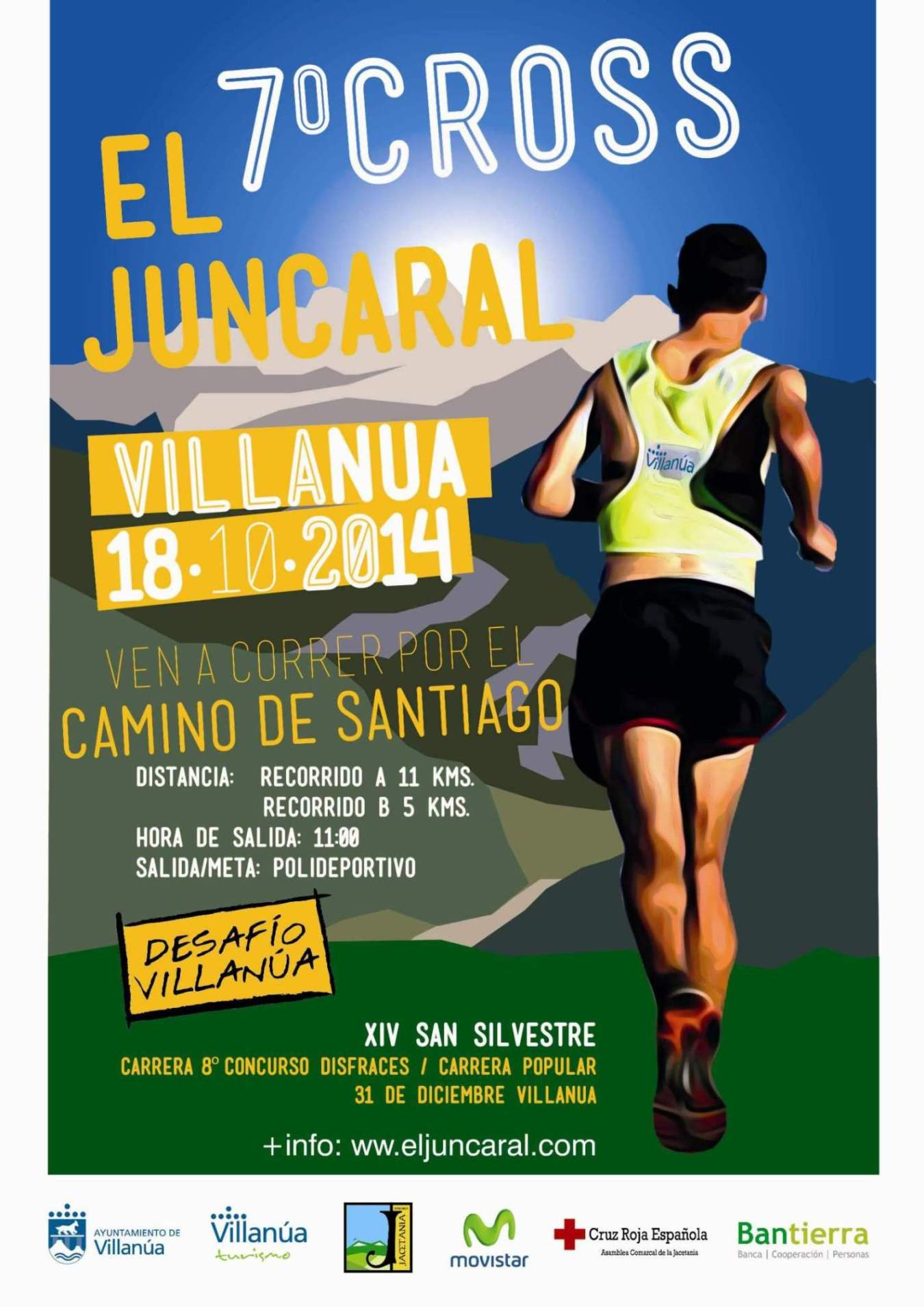 7º CROSS EL JUNCARAL - Inskriba zaitez