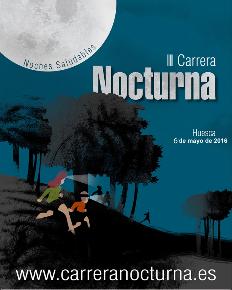 YoVoy #ImComing - LAURA (CARRERA NOCTURNA HUESCA  2016)