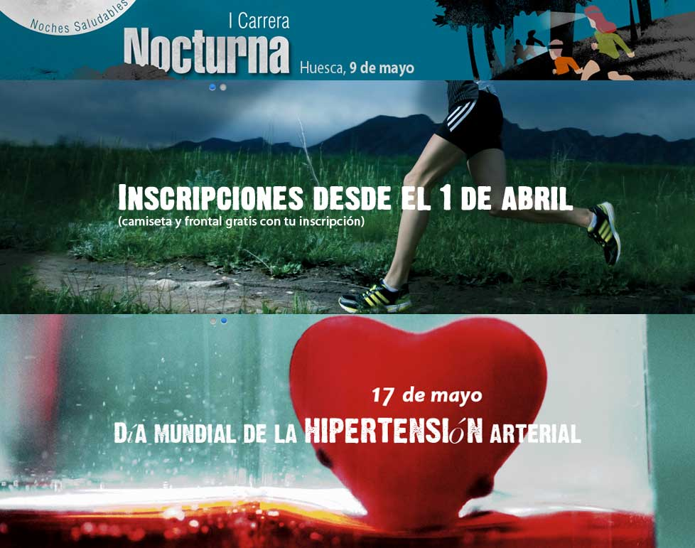 CARRERA NOCTURNA HUESCA - Register