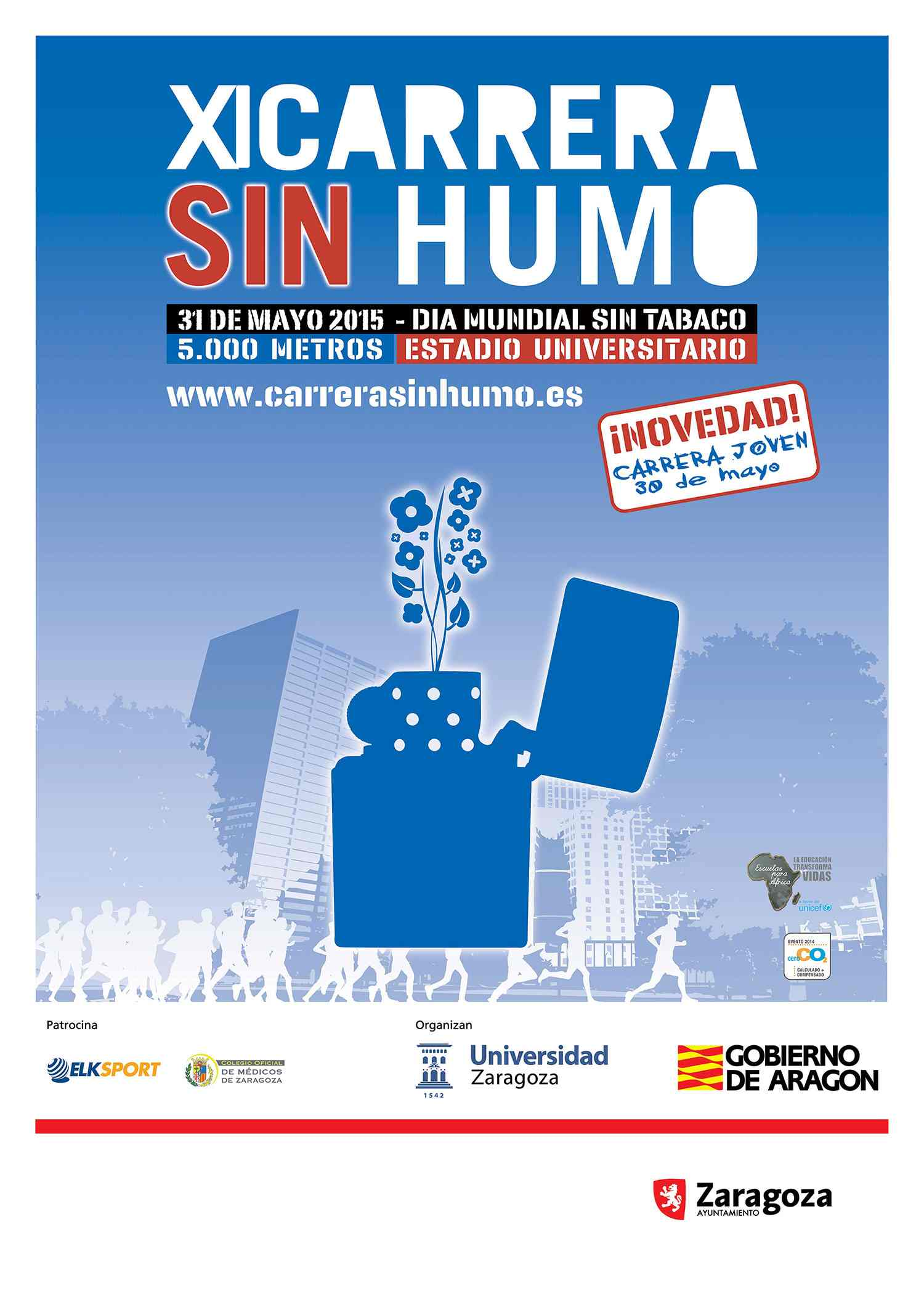 CARRERA SIN HUMO 2015 - Register