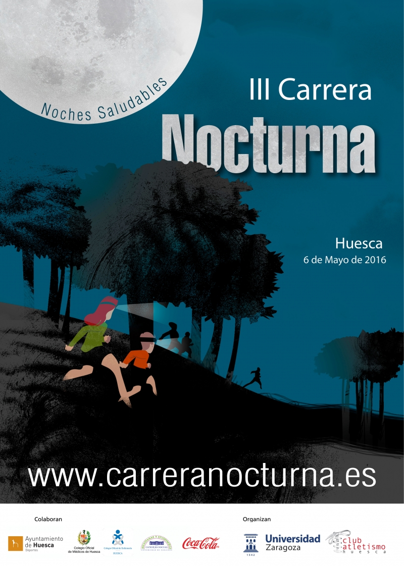 CARRERA NOCTURNA HUESCA  2016 - Inskriba zaitez