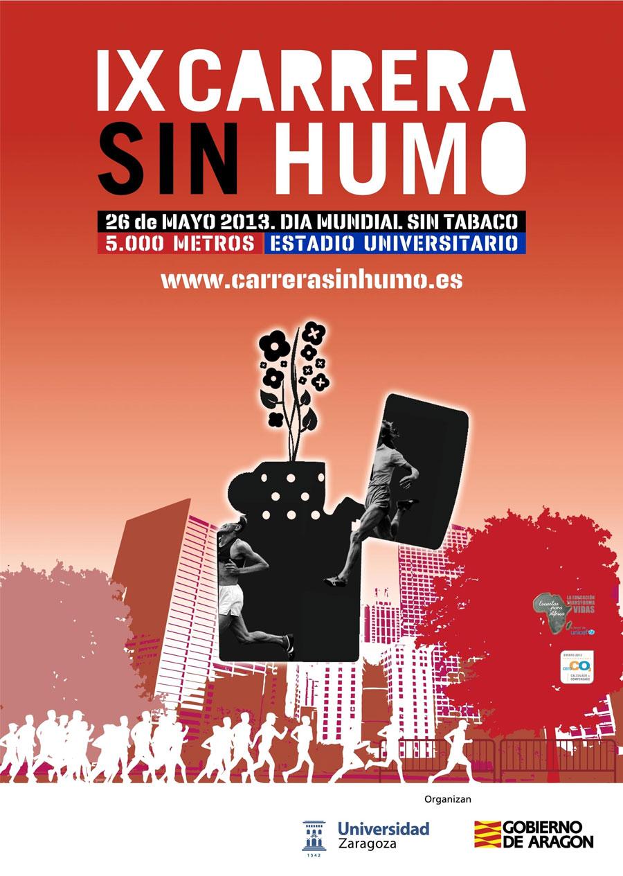 CARRERA SIN HUMO 2013 - Inscríbete
