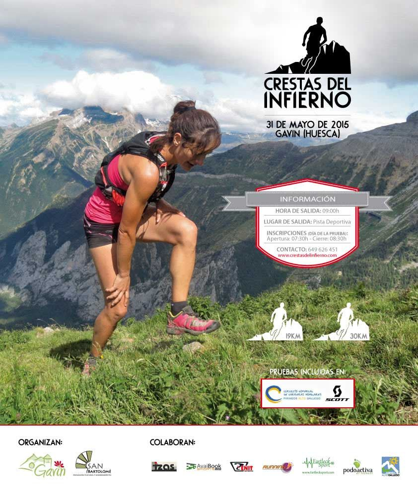 CRESTAS DEL INFIERNO 2015 - Inscríbete