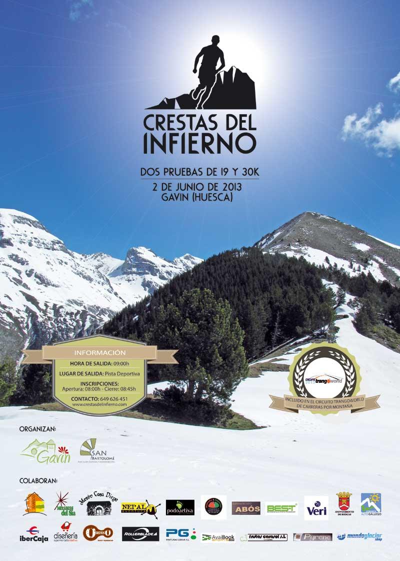 I CRESTAS DEL INFIERNO 2013 - Register