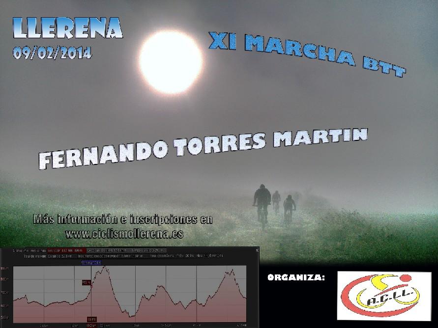 XI MARCHA BTT FERNANDO TORRES MARTÍN. - Inscrivez-vous