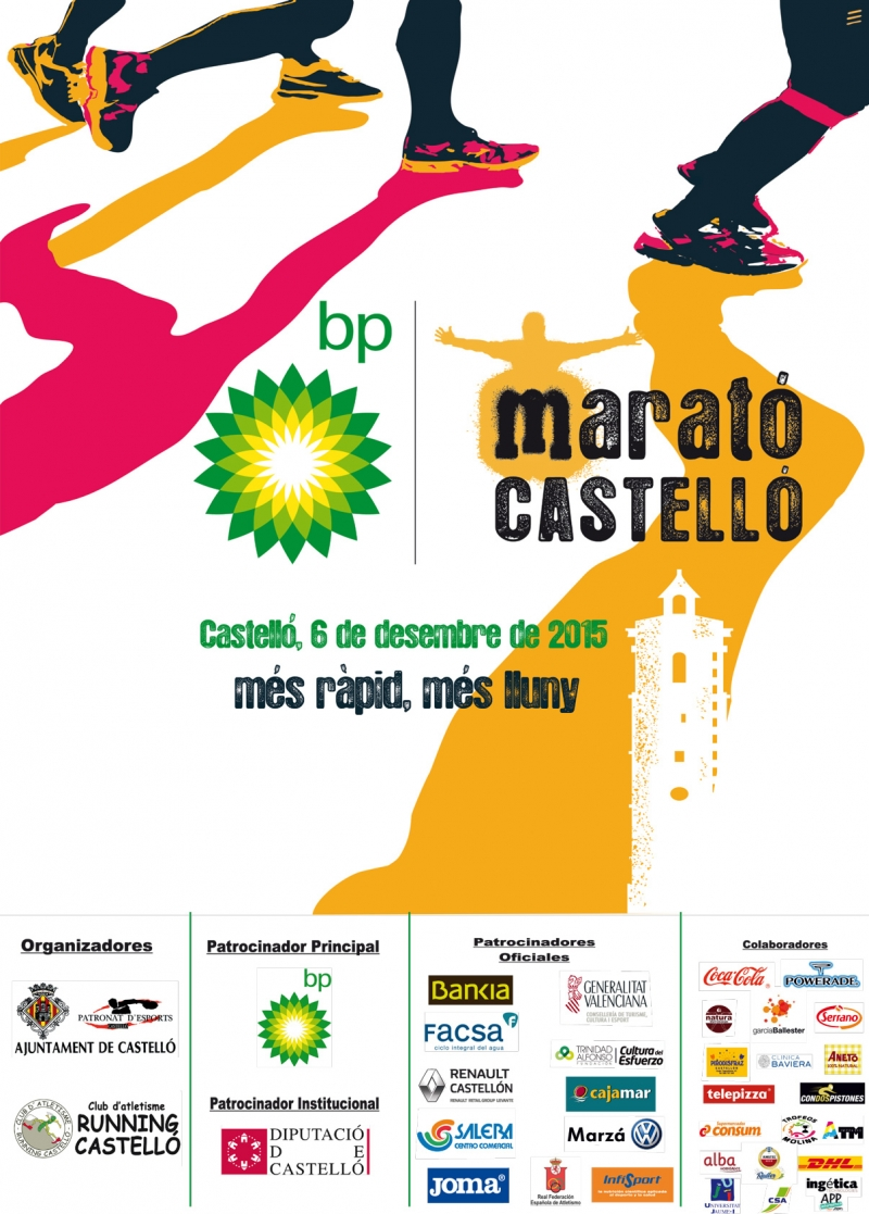 VI MARATÓN BP CASTELLÓN - Register