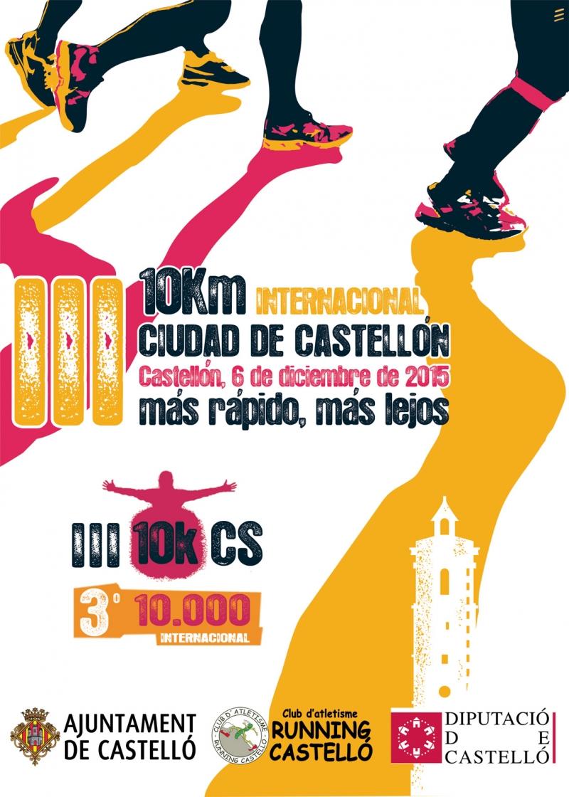 III 10KM INTERNACIONAL CIUDAD DE CASTELLÓN - Inscriu-te