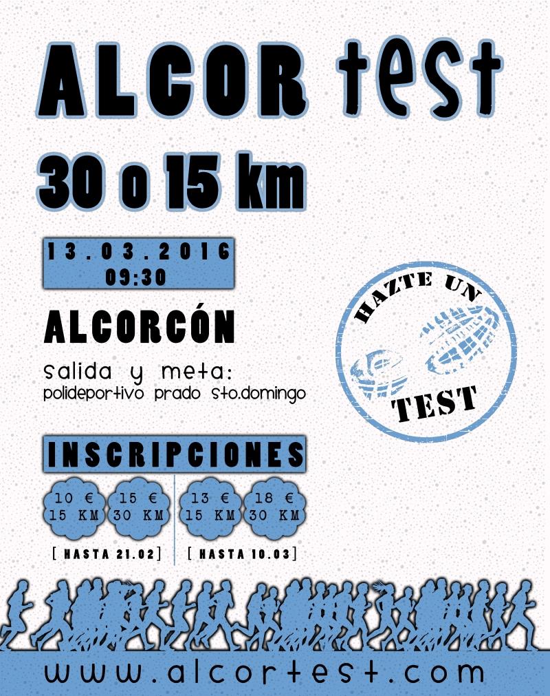 ALCORTEST-15/30 KM. - Inscríbete
