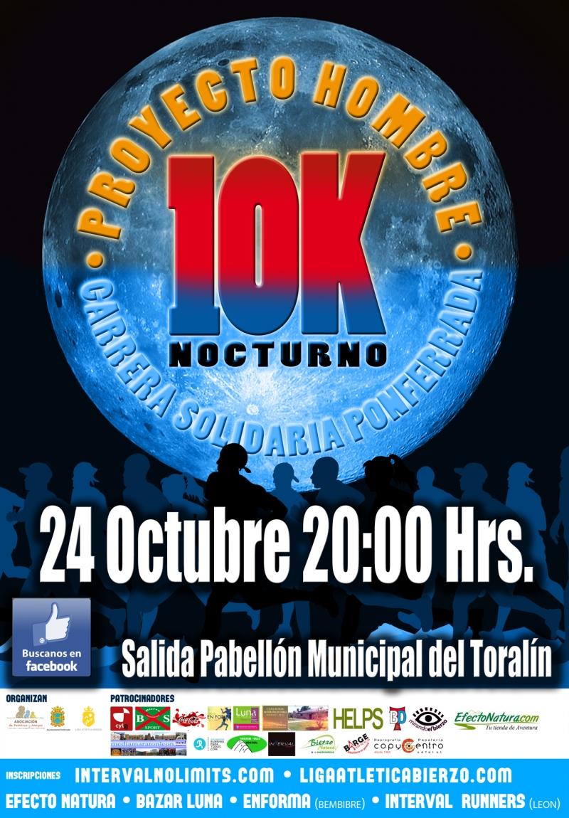 II 10 KM SOLIDARIOS DE PONFERRADA - Inscrivez-vous