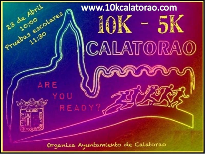 10K-5K CALATORAO 2017 - Inscríbete