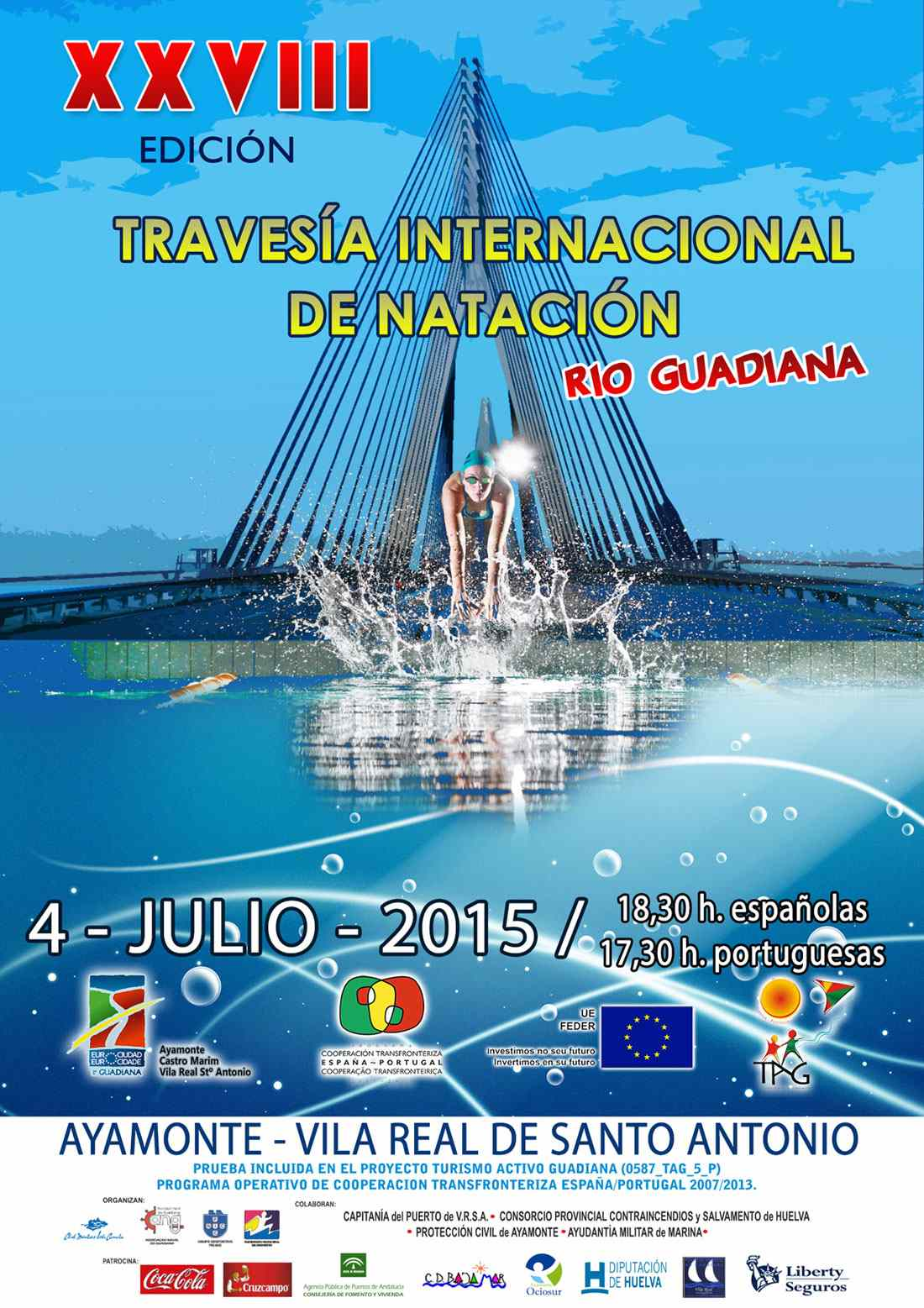 TRAVESÍA DE NATACIÓN RIO GUADIANA - Inscríbete