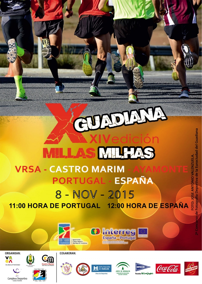 X MILLAS DEL GUADIANA 2015 - Register