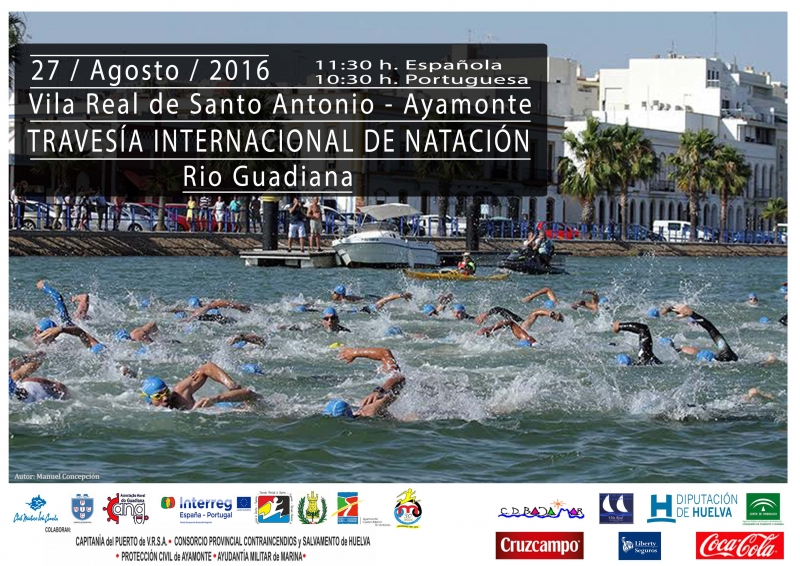 TRAVESÍA INTERNACIONAL DE NATACION  RIO GUADIANA  - Register