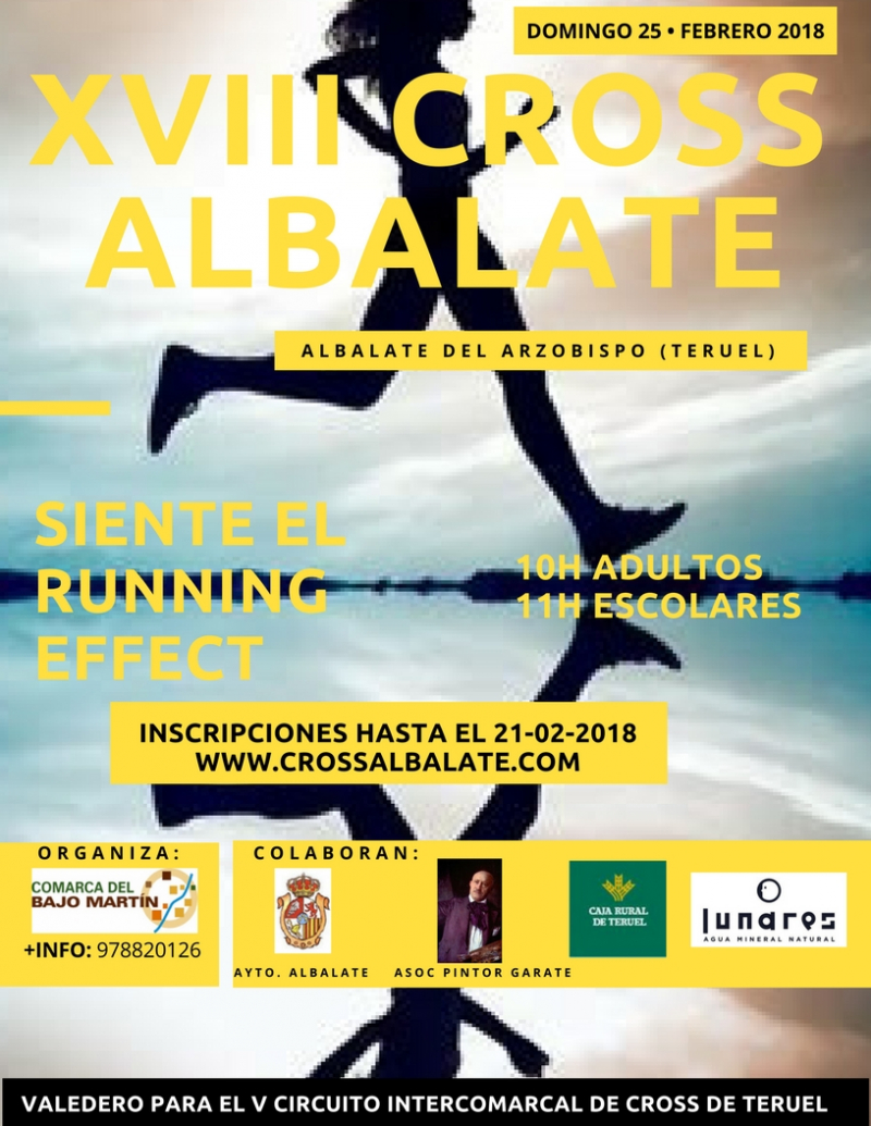 XVIII CROSS DE ALBALATE   - Inscríbete