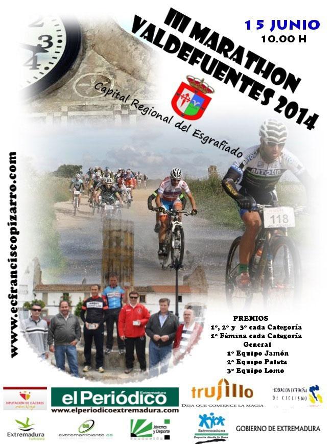 III MARATON DE VALDEFUENTES 2014 - Inscriu-te