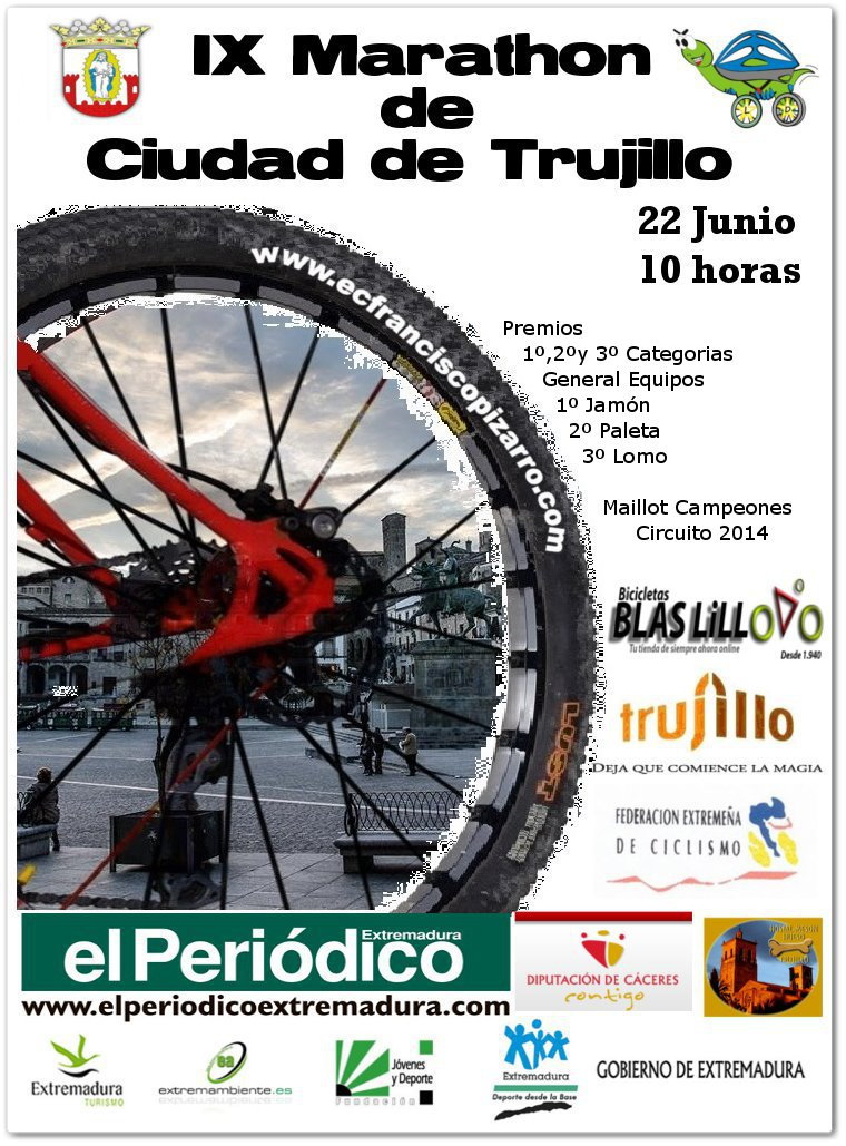 IX MARATON CIUDAD DE TRUJILLO - Register