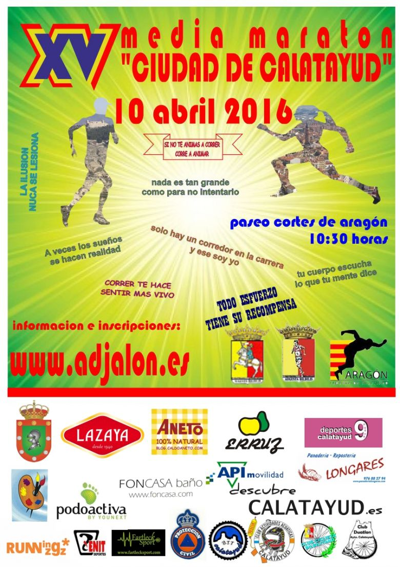 "YoVoy #ImComing - FRANCISCO (XV MEDIA MARATON ""CIUDAD DE CALATAYUD"")"